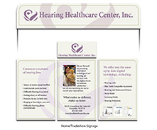 Hearing Healthcare trade show display